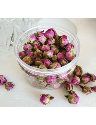 Organic Dried Bulgarian Rose Damascene Buds Premium quality Tea, food grade for Jam, Syrup, Cake