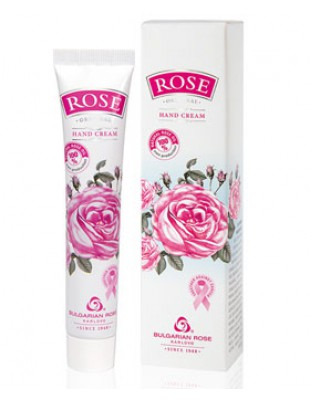 Nourishing & Hydrating hand cream lotion with Natural Rose Oil