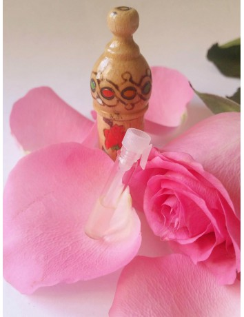 100% PURE Bulgarian ROSE OIL otto 0,5g Certified