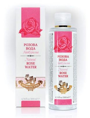 PURE Bulgarian Rose Water - natural face lotion 200ml